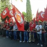 #19o Ferrero: la notizia non sono gli scontri (del tutto marginali) ma la grande partecipazione alla manifestazione contro l'austerità